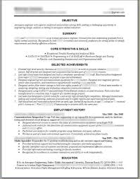 Engineering Resume Templates Word Sample Cover Letter Format