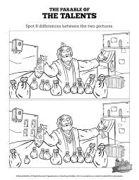 Image Result For Parable Of The Talents Colouring Pages Alt Newspaper