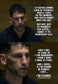Punisher Quotes Fascinating First Time I Don't Have A War To Fight Scattered Quotes
