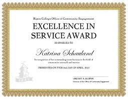 customer service award template years of service awards templates vetra gifts