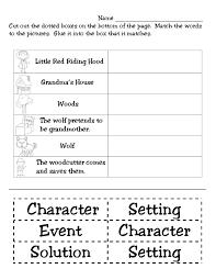 Character Setting And Plot Worksheets - Checks Worksheet