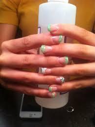 Angel Love Nail Designs Angel Love Poly Gel Nails Al Gel Nail Art Gel Nails