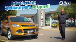 the ricart credit factory specializes in getting you approved