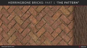Herringbone Brick Pattern Delectable Herringbone Bricks Part 48 The Pattern Overview YouTube
