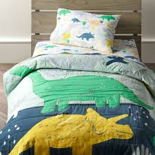 dinosaur toddler bedding crate and
