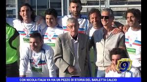 Con Nicola Italia va via un pezzo di storia del Barletta Calcio - Video  Dailymotion