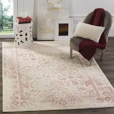 Safavieh Adirondack Vintage Distressed Ivory / Rose Rug (6' Square) - Free  Shipping Today - Overstock.com - 18642410