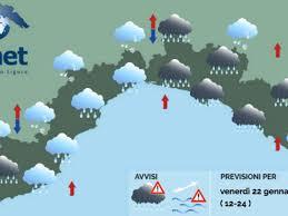 Allerta meteo Genova e Tigullio: temporali attesi nel primo pomeriggio -  Genova 24