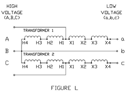 figure l jpg acme buck boost transformer s acme transformers on diagram