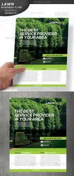 Lawn Care Brochure Lawn Care Flyer Graphicriver Lawn Care Flyer Fully Editable In