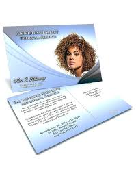 Memorial Announcement Cards Pictures Of Funeral Invitation Cards Announcement Program Templates