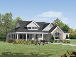 cozy house plans with large front and back porches