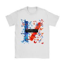 Butterfly Twenty One Pilots Logo Shirts – Teeqq Store