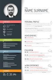 Free Creative Resume Templates Word Enchanting Creative Free Printable Resume Template Word Unique Resume Templates