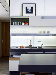 Not Just Kitchen Recess Panels With Satin Glass And Led Lighting In This Modo