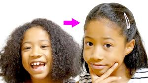 大変身天然パーマ最強くせ毛小2女子が前髪ウィッグと人気ヘア
