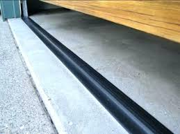 garage door rubber floor seal