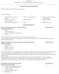 Veteran Resume Samples Army To Civilian Resume Examples Bitacorita