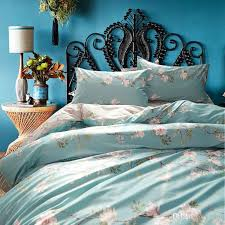 riho 100 pima cotton rural fl rose elegant comfortable girls bedding sets bedding sheets bed in a bag duvet covers bedding bedding from riho
