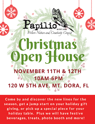 christmas open house flyer your invited christmas open house november 11th 12th papilio mt