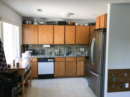 our 281 diy kitchen remodel diy painting oak cabinets white adding wood trim to