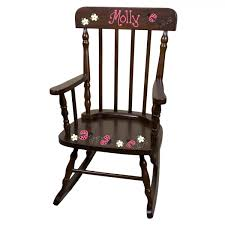 personalized rocking chairs childrens rocking chairs for kids spind esp ladybugpink size4 jpg
