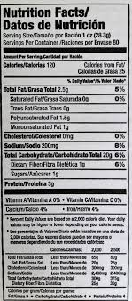 here for nutritional information