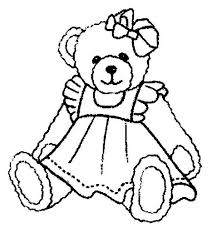 Small Picture Beautiful Teddy Bear Coloring Page Color Luna