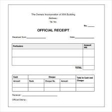 Paid Receipt Template Word Payment Receipt Sample Template Business