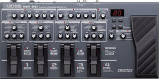 <b>Гитарный процессор Boss ME-80</b>. Обзор, примеры звучания ...