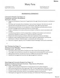 Executive Administrative Assistant Resume Adorable Hospital Unit Clerk Resume Objective About Records Of 5
