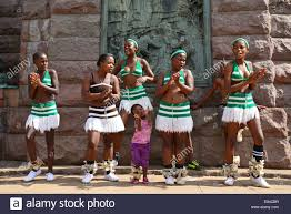 children s zulu dance troupe in church square kerkplein pretoria gauteng province