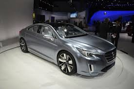 2015 Subaru Legacy Concept: Live Photos And Video From L.A.