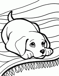 9 free and creative coloring pages for kids of all ages. Dog Coloring Pages For Girls Coloring Home