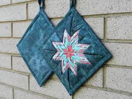 239 best Folded Star Projects images on Pinterest | Quilting ... & NEW Design Amish Folded Star Pot holder by HeartfeltStitchery, $13.00 Adamdwight.com
