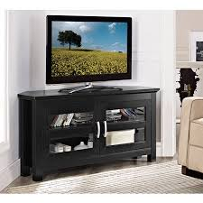 tv stand with storage. Brilliant With Wood Corner Media Storage Console TV Stand For TVs Up To 50 And Tv With S