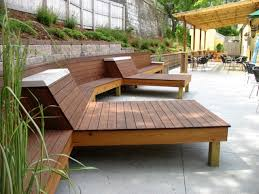 outdoor wooden furniture cedar garden furniture line Meeting Rooms