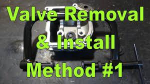 valve removal installation method 1 valve spring compressor valve removal installation method 1 valve spring compressor
