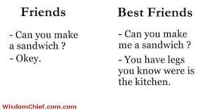 How Can You Tell A Friend From A Best Friend Very Cute Funny Quote ...