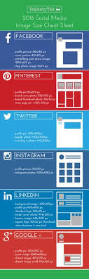 2018 social a image size cheat sheet facebook profile picture