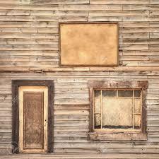 Western Ranch Vintage Holzfassade Hintergrund Oder Muster Tür