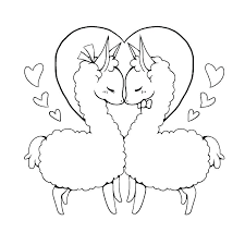 Llama Coloring Pages Free Printable Pajama Coloring Pages Of Animals