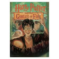harry potter and the goblet of fire book cover mightyprint wall art print