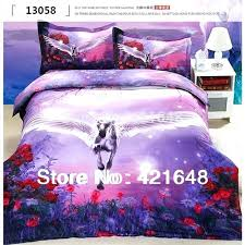 twin bedding sets unicorn bedding sets horse unicorn bedding bedclothes full queen size animal fashion quilt
