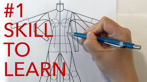 Youtube Fashion Design Sketches The Skill Every Fashion Designer Must Learn Youtube