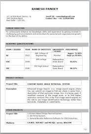 Perfect Resume Format For Freshers Pin By Ashok On Job Resume Format Best Resume Format