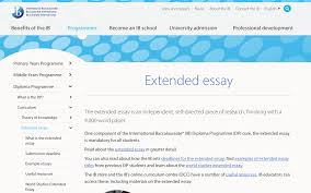 home ib diploma extended essay guide libguides at united  ibo extended essay information 2018 guide