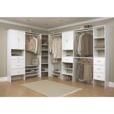contemporary dressing room with closetmaid corner shelves ideas white wooden shelves drawers ideas and