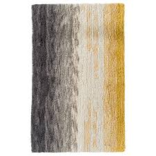 yellow chevron rugs grey and yellow bath rug images area