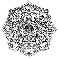 Intricate Mandala Coloring Pages - fablesfromthefriends.com
